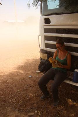 """Avant le départ pour 2 jours dans """"El Chaco"""" 40°C et un peu de vent"""