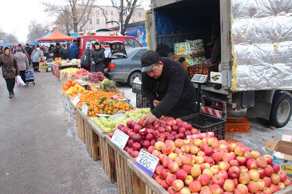Pommes! Spécialité de la région