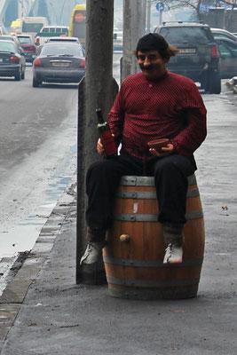 Tbilissi, les géorgiens, et le vin...