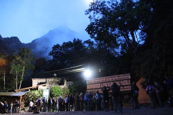 Entrée du Machu Picchu