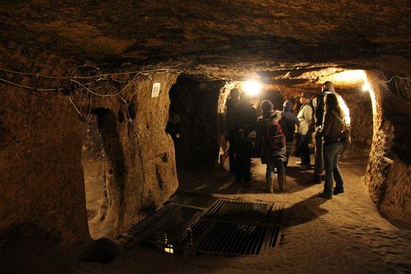 Cappadoces, ville souterraine
