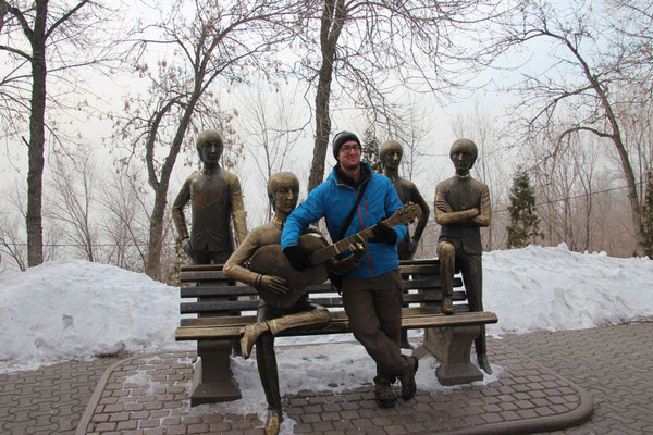 Les beatles à Almaty