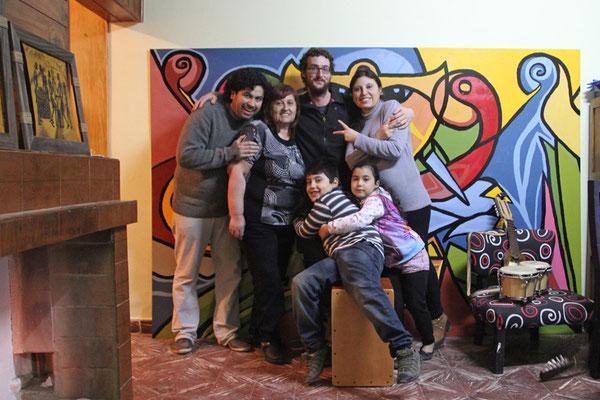 Famille d'accueil à Pico Truncado