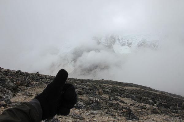 En face de l'Everest