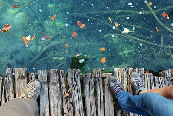 Eau clair des lacs de Plitvicka