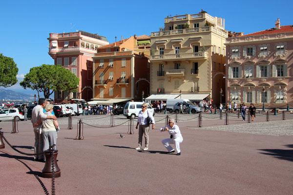 Touriste à Monaco