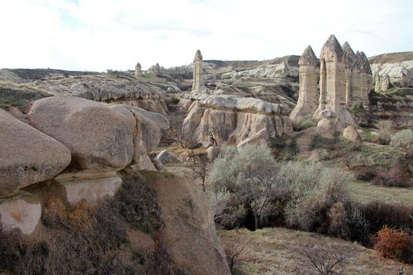 Cappadoces, cheminées des fées