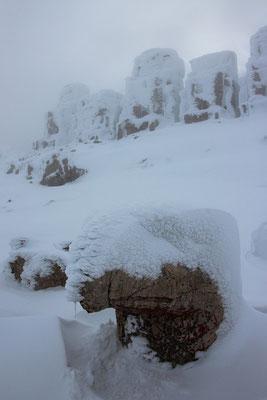 Nemrut Dagi, évidemment, en hiver on ne voit pas grand chose!