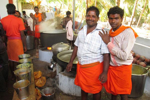 Cuisine dans un temple :)