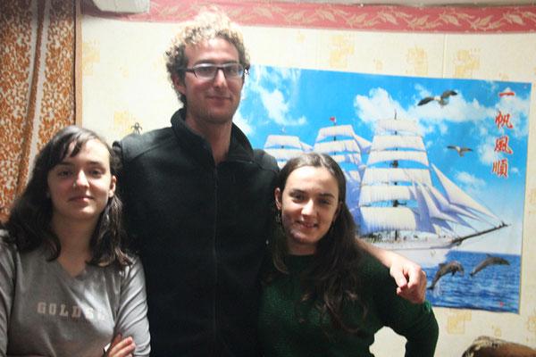 Helen et Ania mes hôtes à Bishkek