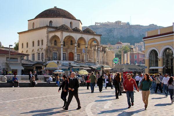 Acropole depuis Athènes