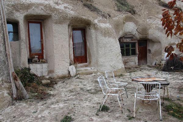 Cappadoces, encore quelques personnes vivent dans la roche