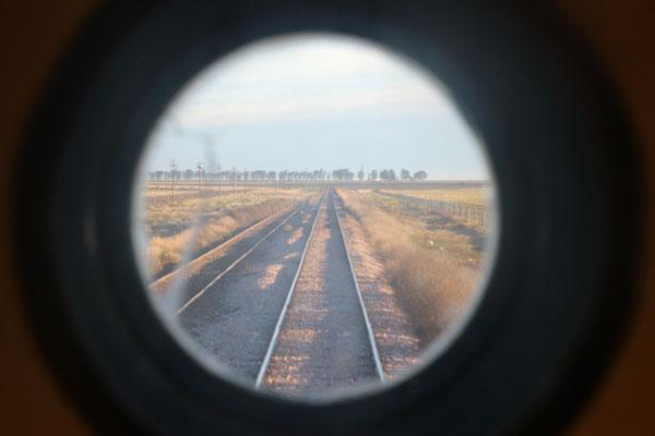en route pour le sud (vue au nord)