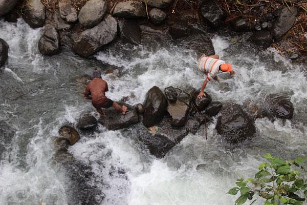 Détournement d'eau
