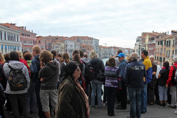 Venise, Vue depuis Rialto en basse saison