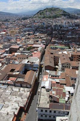 La vieille ville de Quito