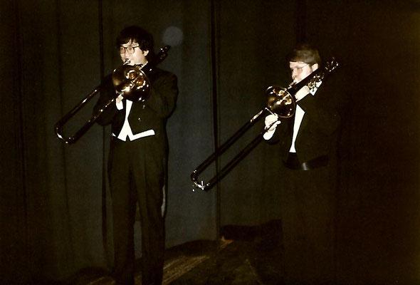Thomas Lindt und Yoshisada Akazawa am Landestheater Mecklenburg, Neustrelitz