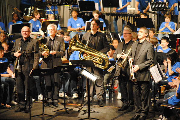 International Brass in der International School Düsseldorf