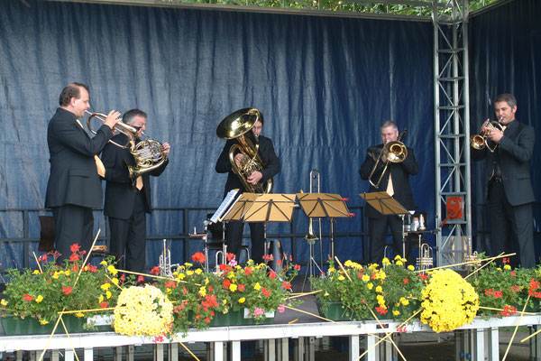Thomas Lindt mit International Brass in Herzogenrath 2004