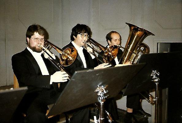 Thomas Lindt mit Kollegen am Landestheater Mecklenburg, Neustrelitz