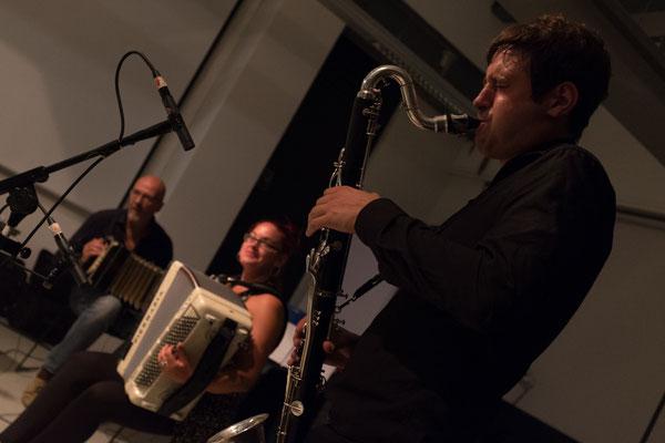 Trio THÉZÉ-ABBAS à Amsterdam, Photo : Fernanda Lacerda