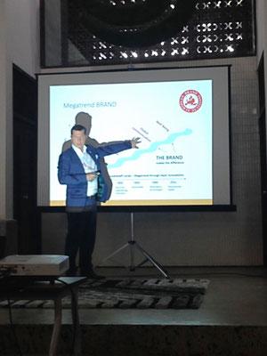 Gerhard Hrebicek, presentation on Megatrend Brand