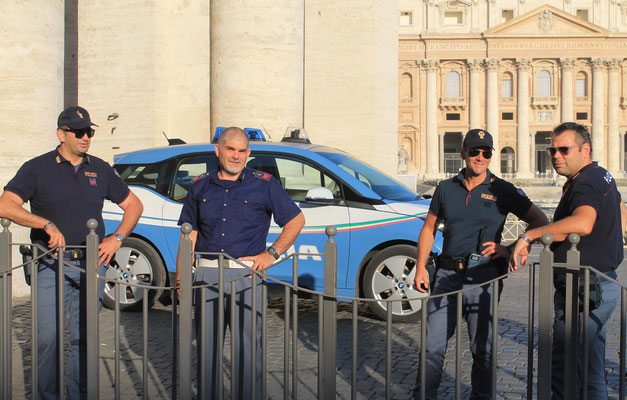 Die Wächter des Petersplatzes