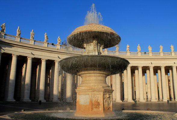 Brunnen auf dem Petersplatz