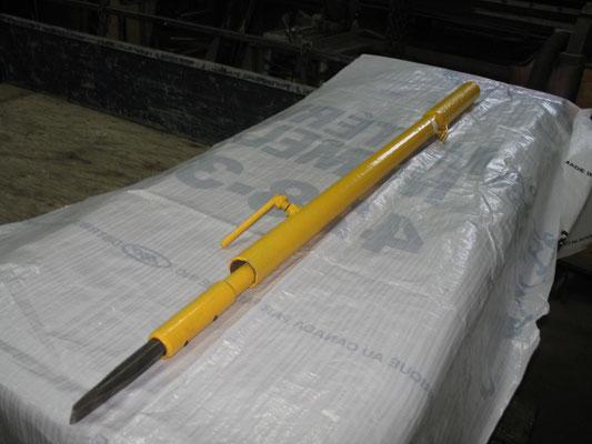 Marteau piqueur avec un ciseau de 1'' de largeur pour casser les pierres
