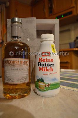 """Schwedischer """"Mackmyra Whisky"""" ... kontra ...  deutscher """"Buttermilch"""" ..."""