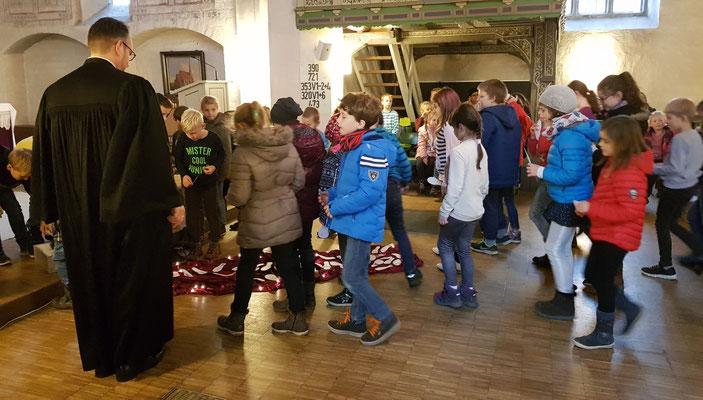 Schulveranstaltungen Spannende Aktionen Grundschule Liebenau