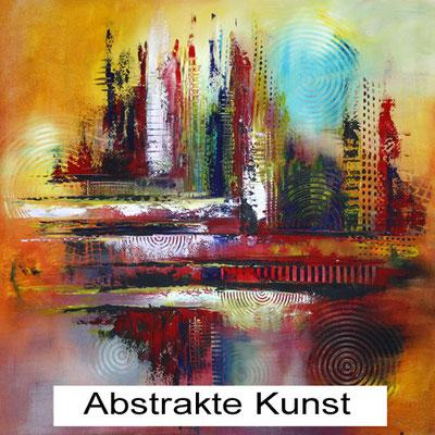 Abstrakte Handgemalte Bilder Leinwand abstrakt kaufen online