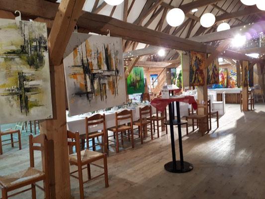 Schlosshofgalerie Schwendi Adventsmarkt Kunst Ausstellung 2020