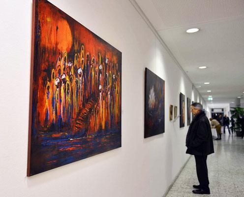 Uni - Klinik 6 Acrylbilder