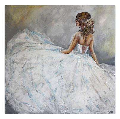 Goldenes Haarband Braut Brautmoden Ballerina Gemälde