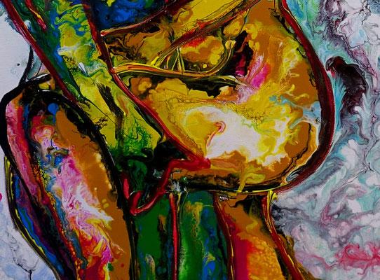 L´Amour Erotische Wandbilder Moderne Aktmalerei