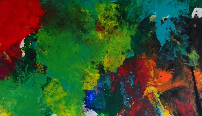 Supernova 2105 abstraktes Wohnzimmerbild Wandbild XXL Bilder BÜro