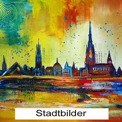 Wandbilder mit Städtemotiv - Stadt Wandbilder kaufen