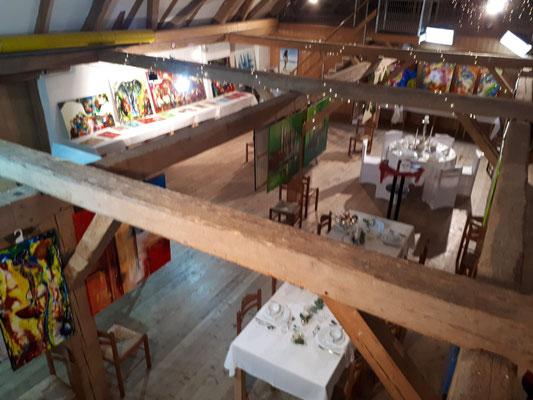 Schlosshofgalerie Schwendi Adventsmarkt Bilder Ausstellung