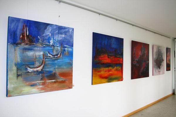 Kunstausstellung - Abstrakte Vernissagen - Ulm, Günzburg, Laupheim, Krumbach, Augsburg, Landsberg