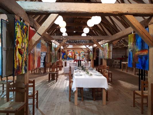 Schlosshofgalerie Schwendi Adventsmarkt Bilder Ausstellung 2020