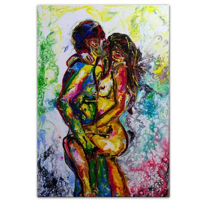 L´Amour Erotische Wandbilder Moderne