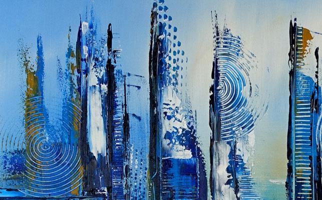 Stralsund abstrakte Kunst malerei original gemälde künstler bild gemalt