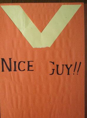 2011年 NICE GUY!!(Yの字が取れてます)