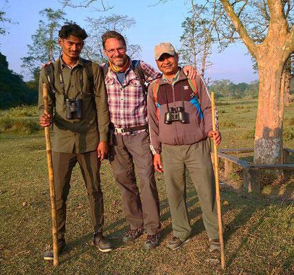 Besten Dank Sunil und Kumar, für eure kompetente Führung!