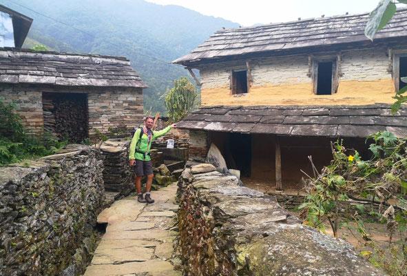 Auf Entdeckungstour durch kleine Dörfer.