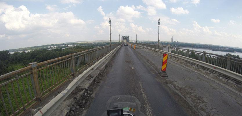 """Brücke zur Grenze nach Bulgarien """"abenteuerlich"""""""