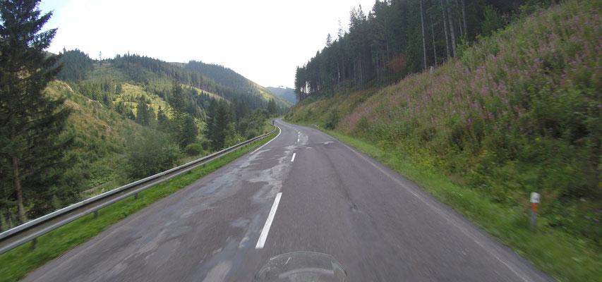 Strasse in der Slowakei