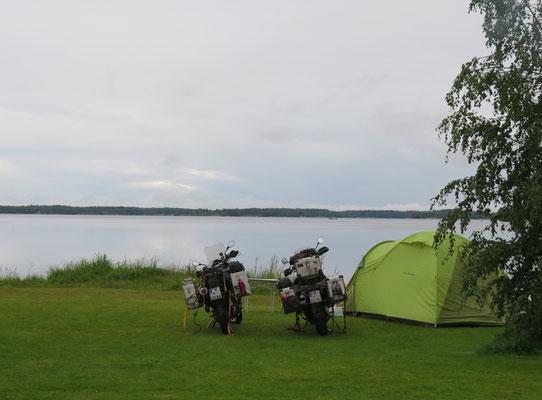 schöner Platz am See