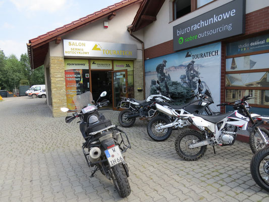 Touratech Polen